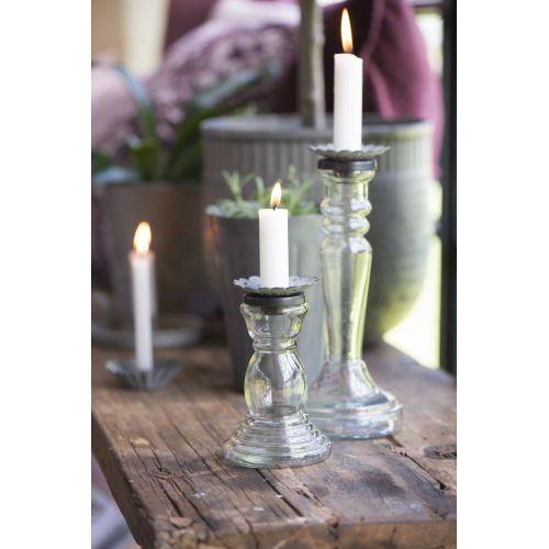 Nástavec na svíčku pro odkapávání vosku Zinc