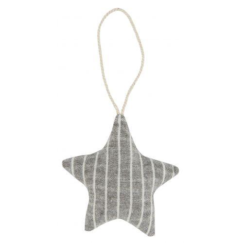 Vánoční textilní ozdoba Textile Christmas Star