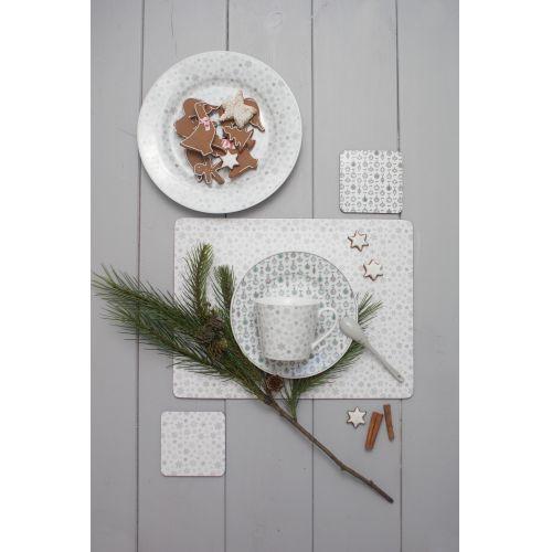 Porcelánový dezertní talíř X-mas Ornaments