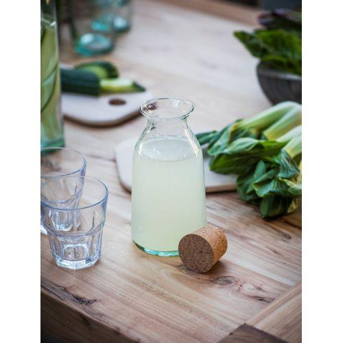 Skleněná lahev s korkovou zátkou 800ml