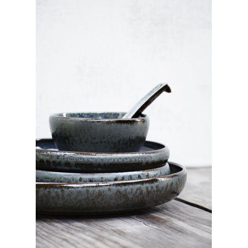 Kameninový talíř Grey - menší