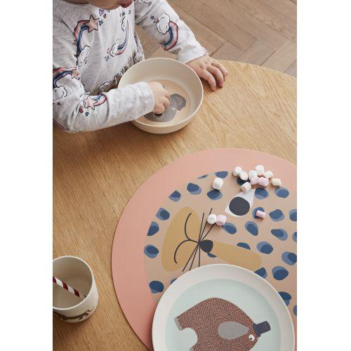 Bambusové nádobí pro děti Hathi - set 3 ks