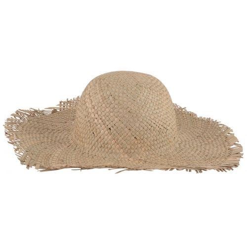 ... Slaměný klobouk s širokým okrajem ... 0ac3f767cc