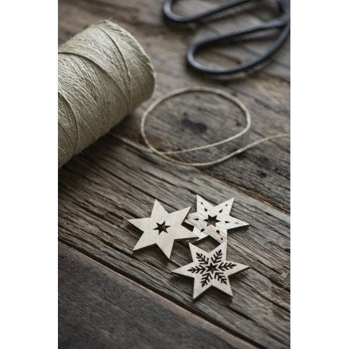 Dřevěná hvězda Star Wood