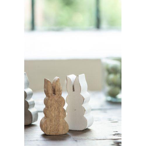 Dřevěná figurka Rabbit Nature
