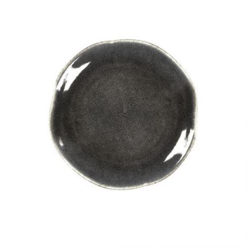 Keramický talíř Lunch Plate Grey Coal ⌀ 20 cm