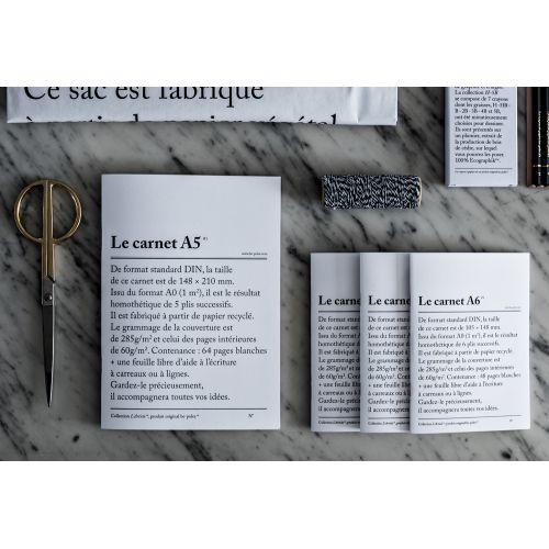 Nelinkovaný sešit Le carnet A5