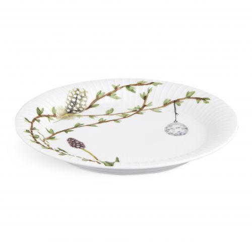 Velikonoční porcelánový talíř Hammershøi Easter Ø22 cm