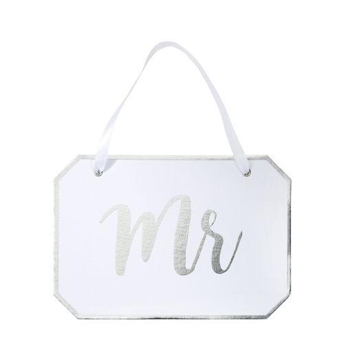 Závěsná dekorativní cedulka MR