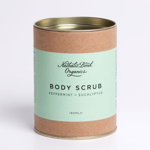 Tělový peeling Peppermint + Eucalyptus 180 ml