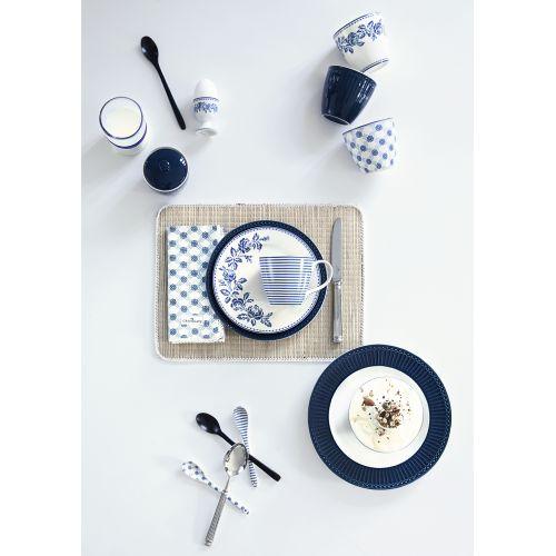 Latte cup Alice dark blue
