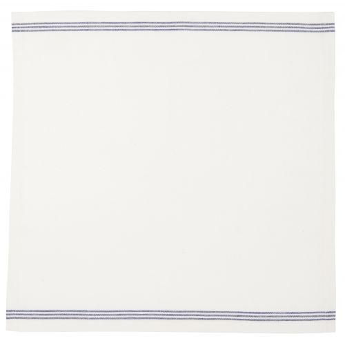 Bavlněný ubrousek Blue stripes 40x40