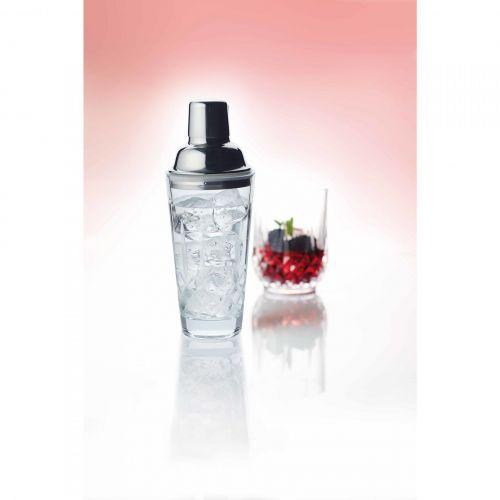 Broušený koktejlový shaker Glass