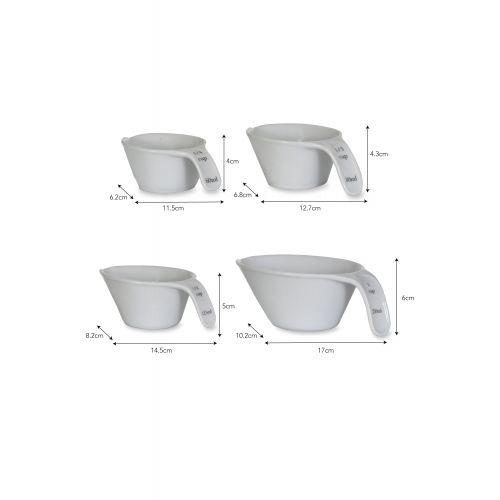 Porcelánové odměrky - set 4ks