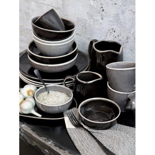 keramická miska Calais Grey Coal ⌀ 18 cm