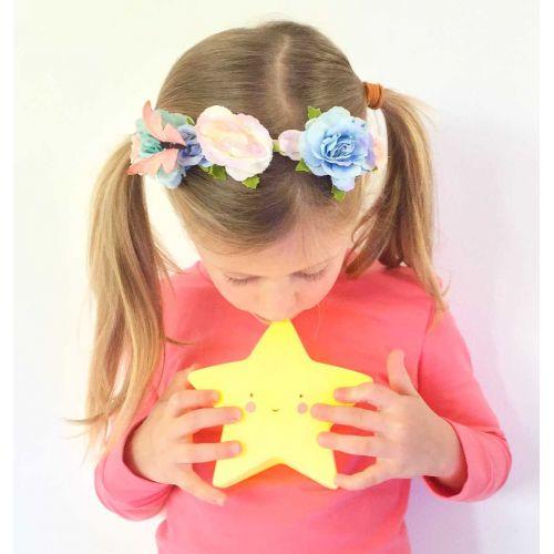Noční LED lampička Star Yellow