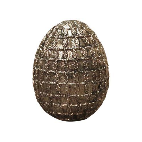 Dekorativní velikonoční vejce Antique gold