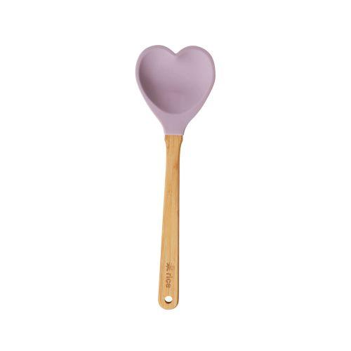 Silikonová servírovací lžíce Heart Shape