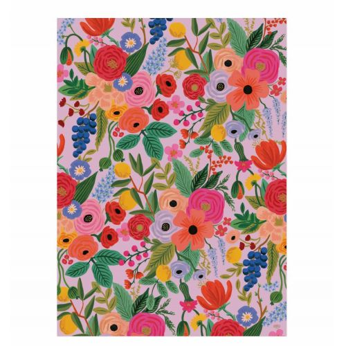Balicí papír s květinami Garden Party - 3 listy