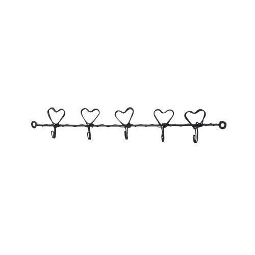 Věšáček Hearts - natur