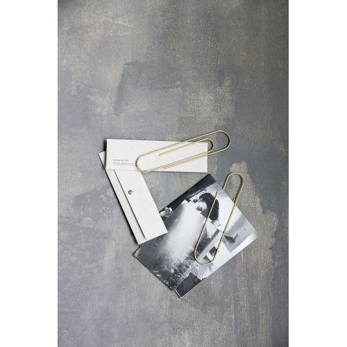 Maxi kancelářská sponka Brass 25 cm