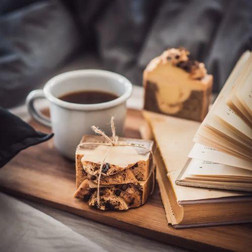 Přírodní mýdlo Coffee Time