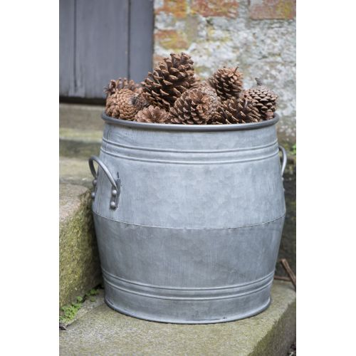 Kovový obal na květináč Flower Pot