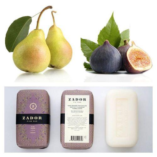 Luxusní mýdlo ZADOR - Fík a hruška