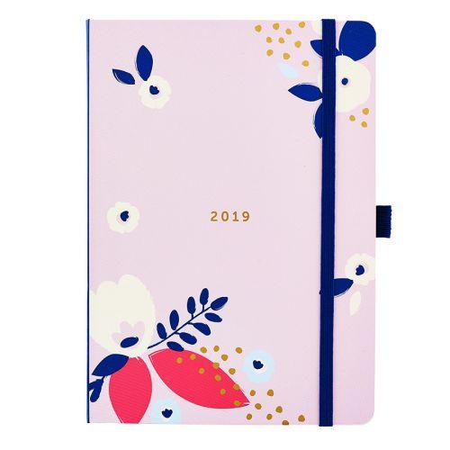 Diář Flower Pretty 2019