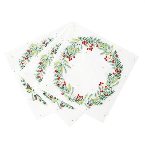 Papírové ubrousky Berry 33 × 33 cm