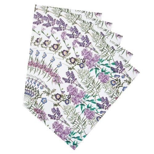 Vonné listy do skříně Lavender Garden - 5 ks