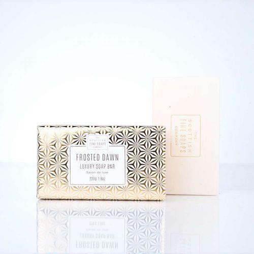 Luxusní tuhé mýdlo Frosted Dawn