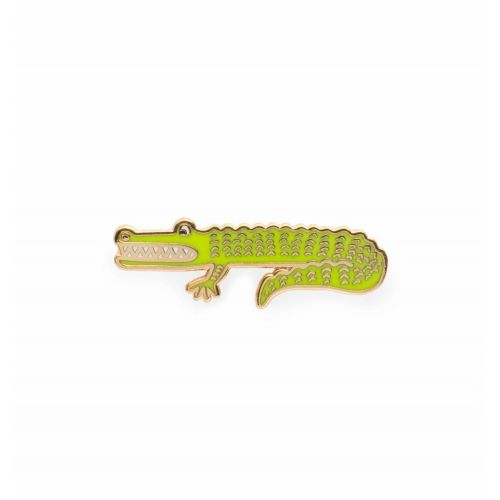 Kovový odznáček Alligator