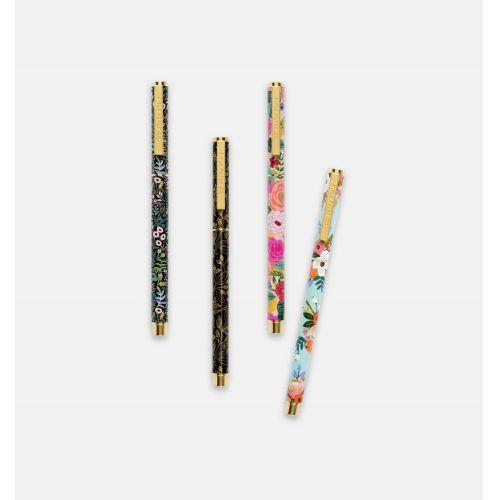 Kovové kuličkové pero s florálním motivem Summer Meadow