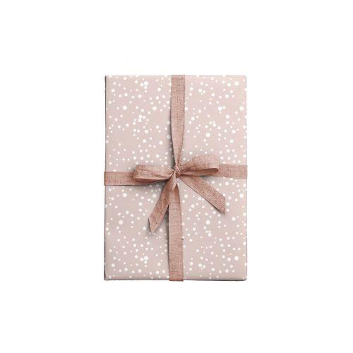 Balicí papír Dots Rose - 2 listy