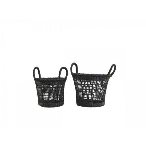 Úložný košík Seagrass Black