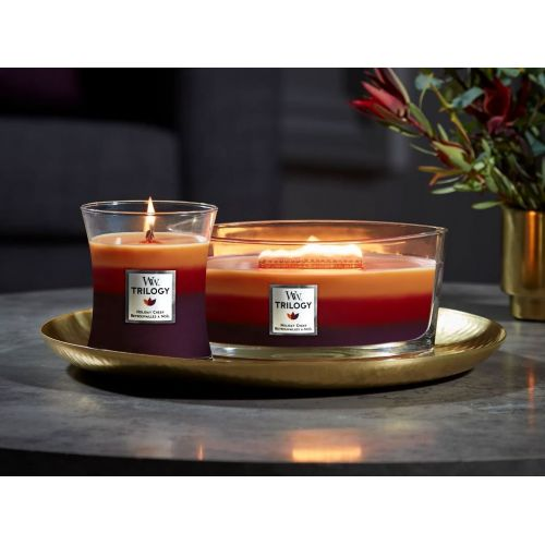 Vonná svíčka WoodWick - Holiday Cheer 454 g