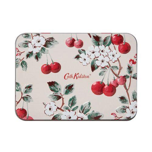 Dárkový set kosmetiky v plechové krabičce Cherry Spring