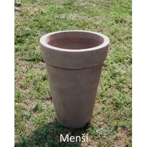 Maxi terakotový květináč 70/90cm