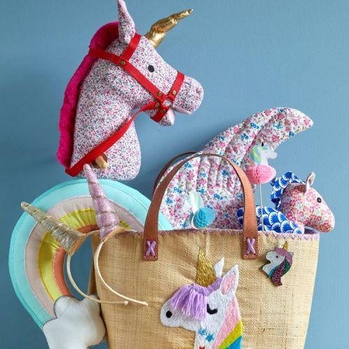 Taška z rafie Unicorn bag