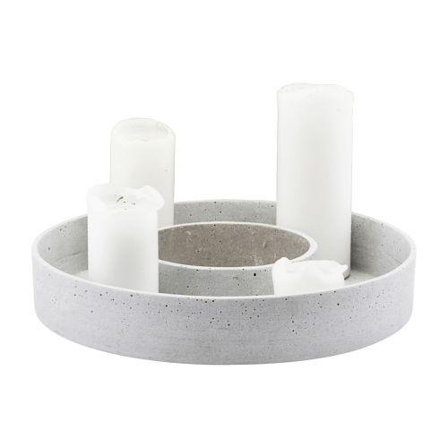 Adventní svícen Ring 35 cm