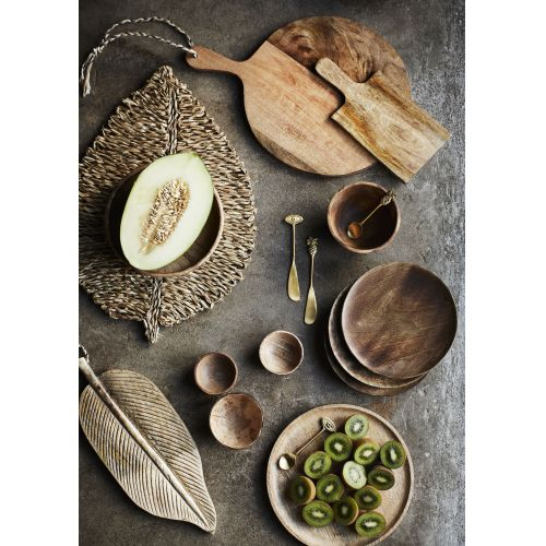 Dřevěný talíř Mango Natural