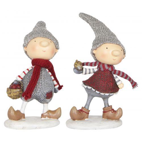 Vánoční figurka Santa's helper Girl/Boy