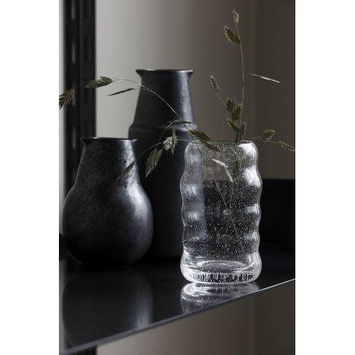 Skleněná váza Srina Clear 12 cm