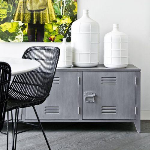 Jídelní ratanová židle - Iron Black