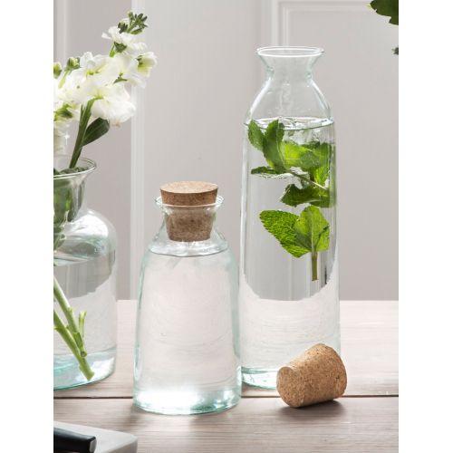 Skleněná lahev s korkovou zátkou Broadwell 1,6 l