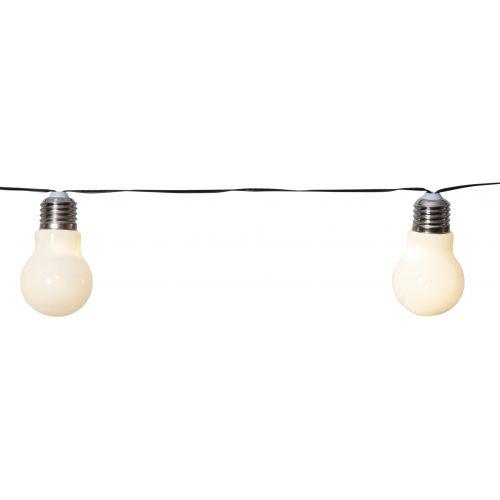 Světelný LED řetěz White Bulbs