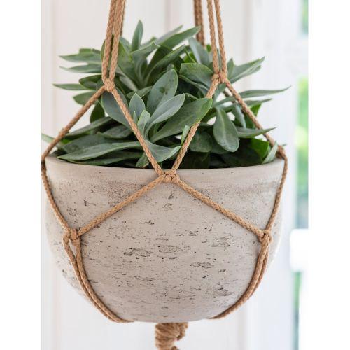 Závěsný betonový obal na květináč Stratton Hanging Pot