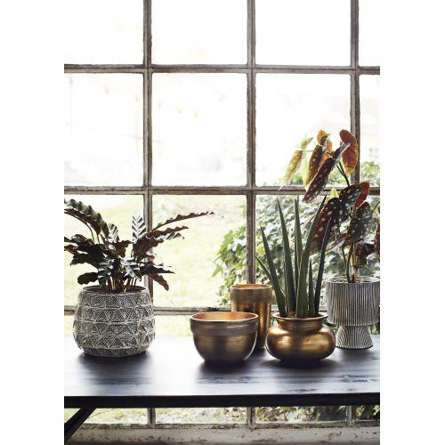 Hliníková váza Gold Vase