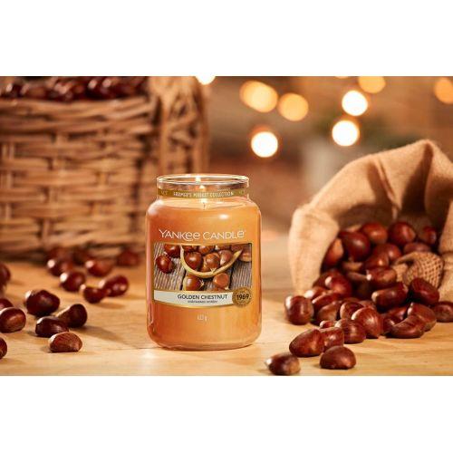 Svíčka Yankee Candle 623gr - Golden Chestnut